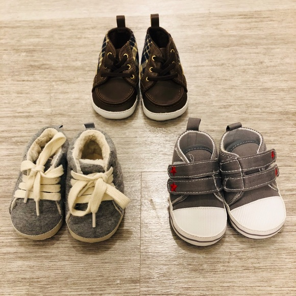 31c573dcb8330 GAP Other - BUNDLE 3-6 Months Old Baby Boy Shoes